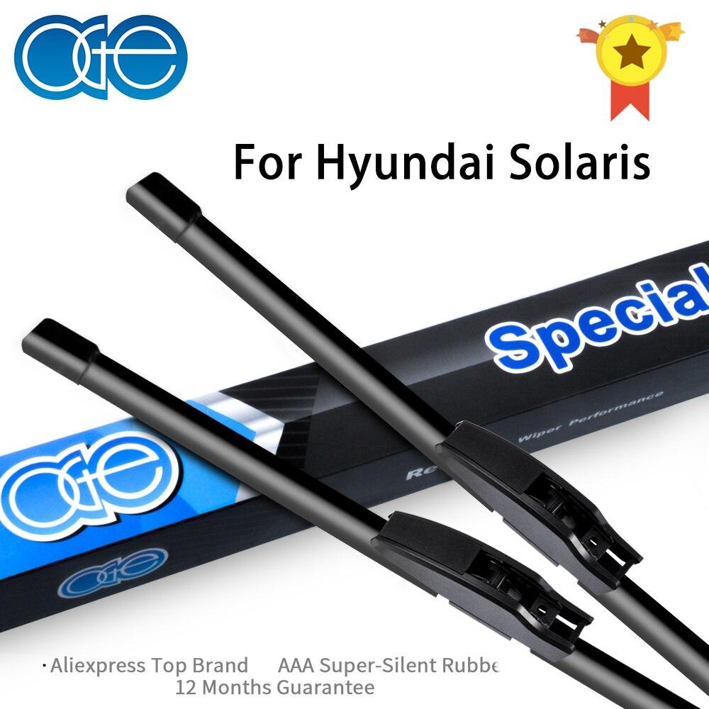 Kaca Depan Dan Belakang Wiper OGE Untuk Hyundai Solaris 2011 2012 - Suku cadang mobil - Foto 1