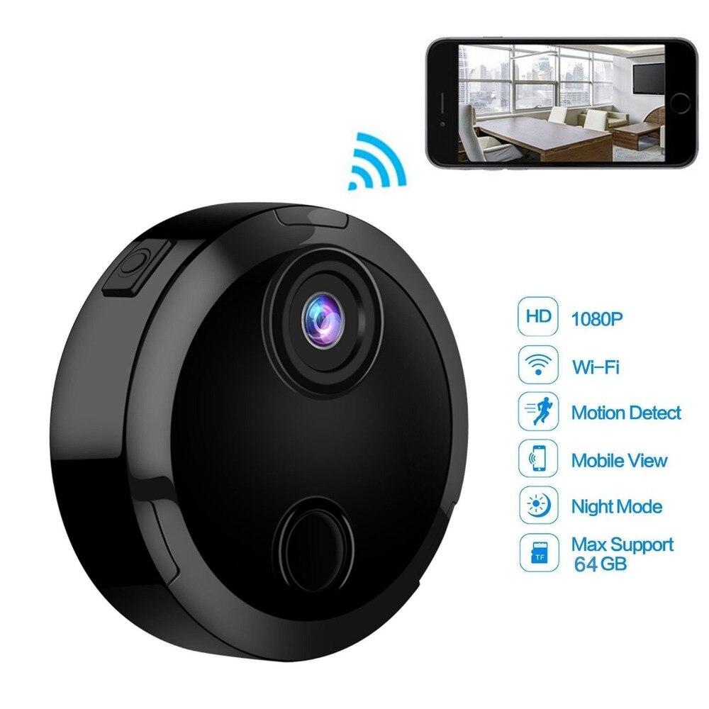 Mini caméra 1080 P Wifi IP réseau caméscope capteur infrarouge Vision nocturne mouvement soutien caché TFcard enregistrement vidéo voiture DV