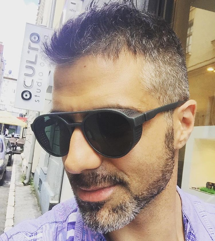 Men's sunglasses plastic + metal round frame glasses UV400 fashion ladies sunglasses classic brand driving night vision goggles (12)
