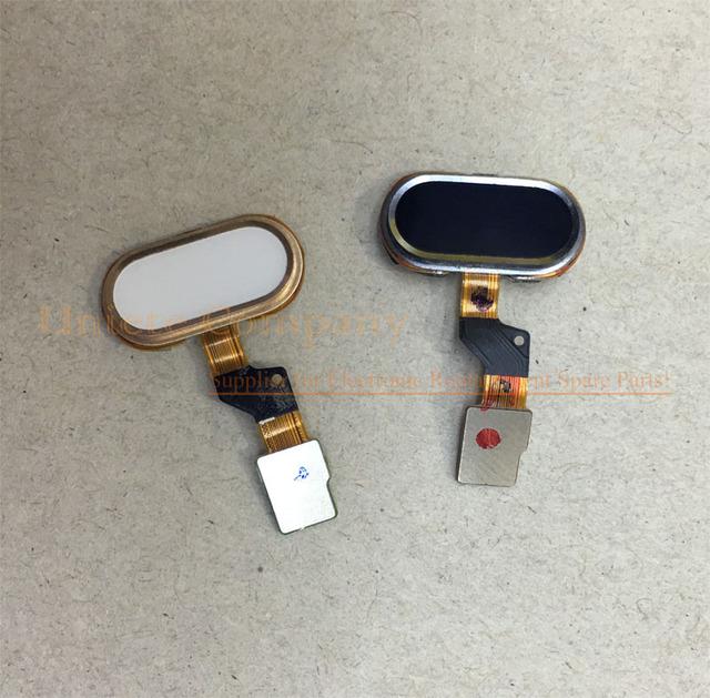 Ori del teléfono botón de inicio tecla de retroceso con sensor de huellas dactilares flex cable para meizu m3s mini reemplazo de piezas de repuesto