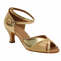 Heel Height 8 cm or Other Heels Zapatos de baile Gold Silver Dancing Shoes Comfortable Latin Dance Shoes Woman JYG913