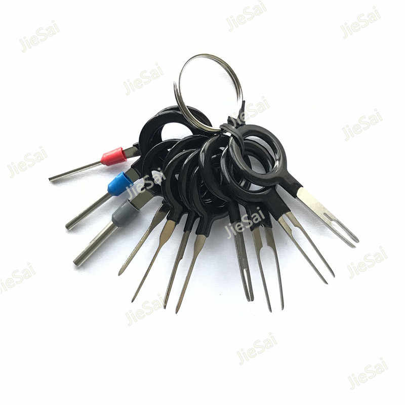 Automotive Terminal Removal Tools Computer Equipment Disassembly tools Car  Electrical Wiring Crimp Connector Pin Extractor Kit
