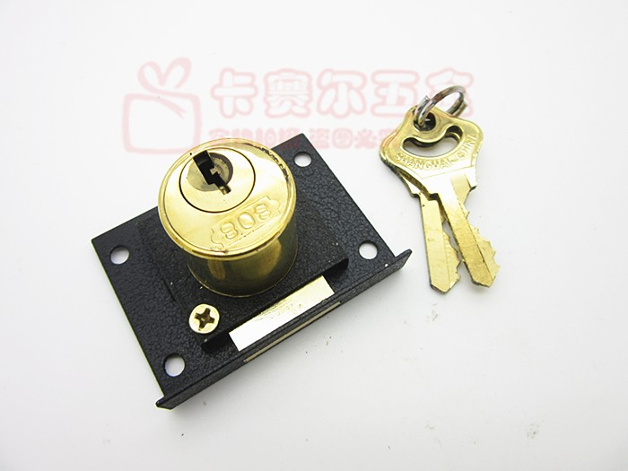 furniture lock,antique furniture locks,office desk locks,drawers locks,cabinet  locks,desk locks keys,computer desk locks,safely drawer locks,wardrobe locks  ... - 40mm*53mm Copper Lock Head Furniture Desk Locks Retro Cupboard File