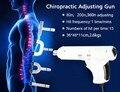 Más reciente Corrección Eléctrica Activador Pistola Terapia Masajeador 4 Cabezas de intensidad regulable Impulso Quiropráctica Instrumento De Ajuste