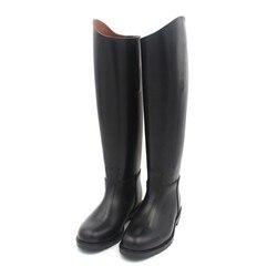 Aoud Reiten Ausrüstung Volle Leder Leder Futter Dressur stiefel Reit Stiefel Schuhe Unisex Angepasst Paardrijden