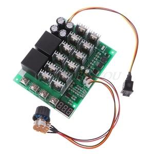 Image 2 - Controlador de velocidad del Motor, DC 10 55V 12V 24V 36V 48V 55V 100A PWM HHO RC interruptor de Control inverso con pantalla LED