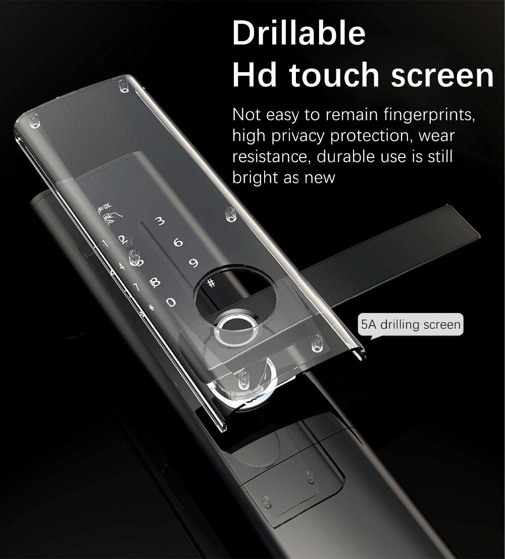 HTB1gqQYXZvrK1Rjy0Feq6ATmVXa7 WiFi Fingerprint Door lock, Waterproof Electronic Door Lock Intelligent Biometric Door Lock Smart Fingerprint Lock With App