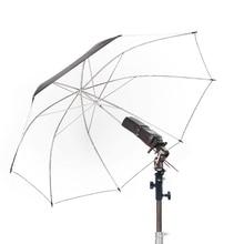 Yeni Döner Flaş Sıcak Ayakkabı şemsiye tutucu Montaj Adaptörü stüdyo ışığı Tipi E stand braketi için fotoğraf stüdyosu aksesuarl...