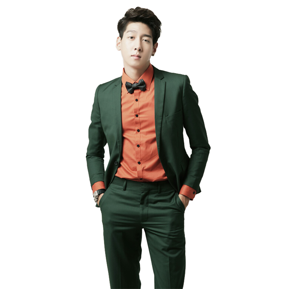Online Buy Wholesale mens green suit from China mens green suit ...
