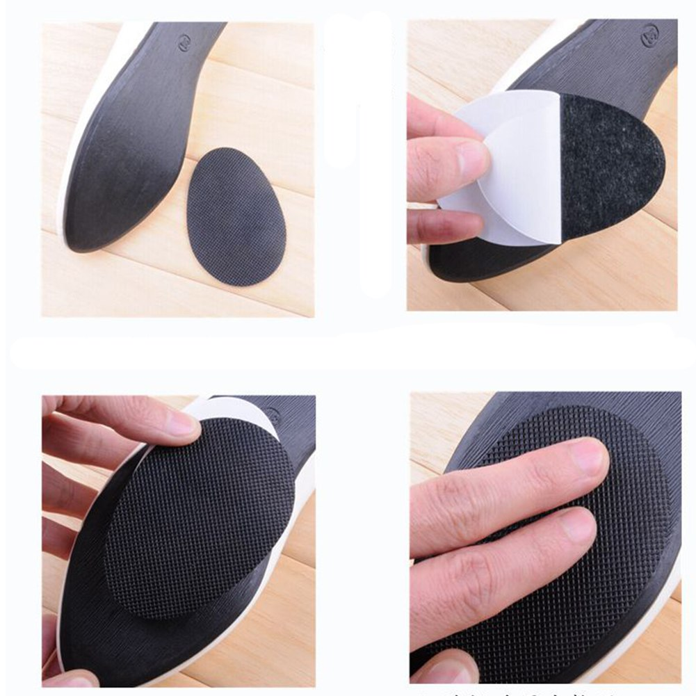 10X Anti-Slip Shoes Heel Sole Grip Protector Pads Non-Slip Cushion Replacement