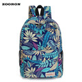 2017 new arrival Korean style student nylon backpack School bag student leisure tide leaves backpack high quality