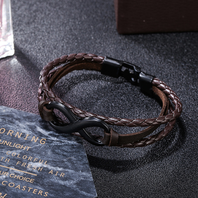 Mens Toggleclasps Leather...