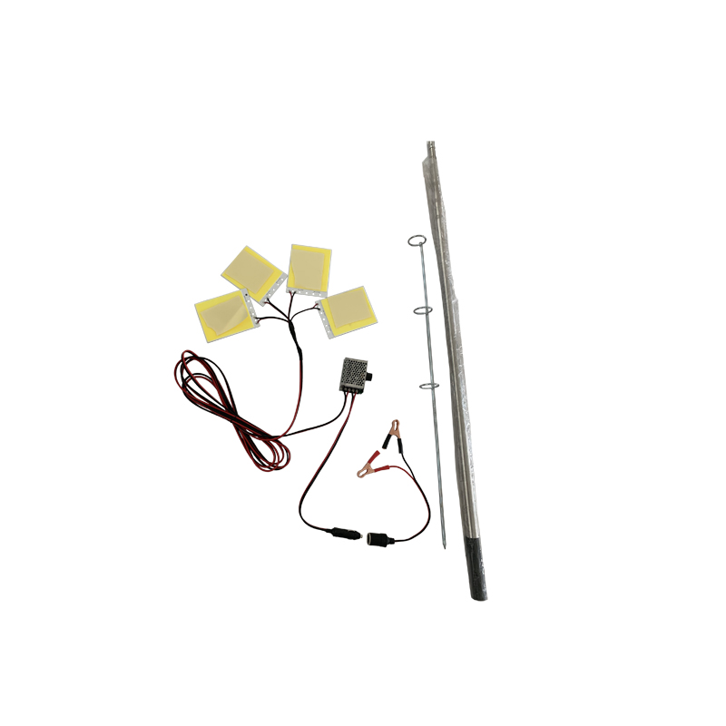 96W cob led fishing rod light M10x4