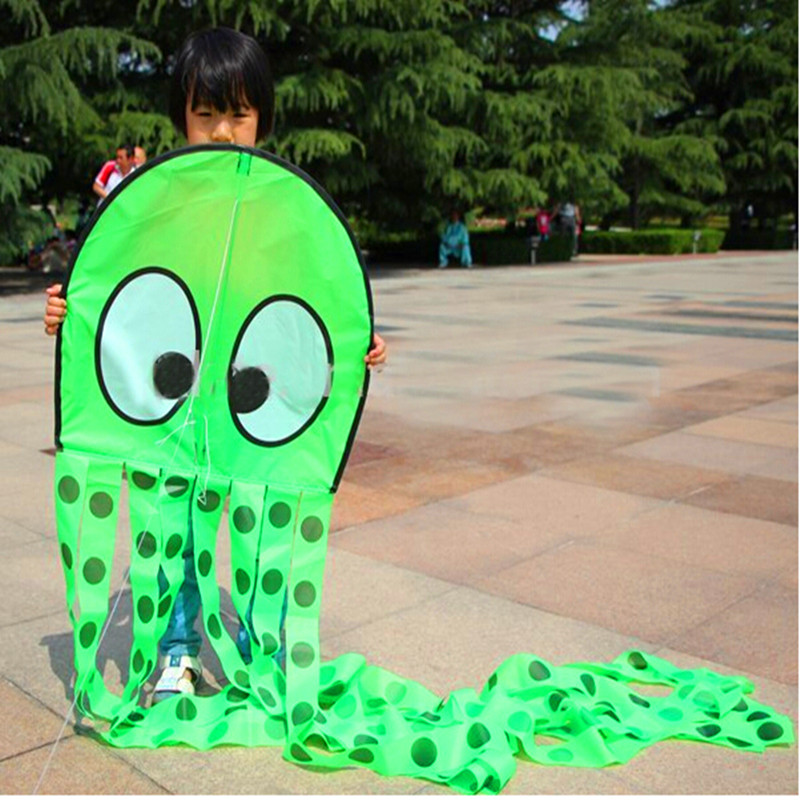 free shipping high quality 2.5m octopus kite various choose with handle line outdoor fun & sports weifang kite parafoil hcxkite