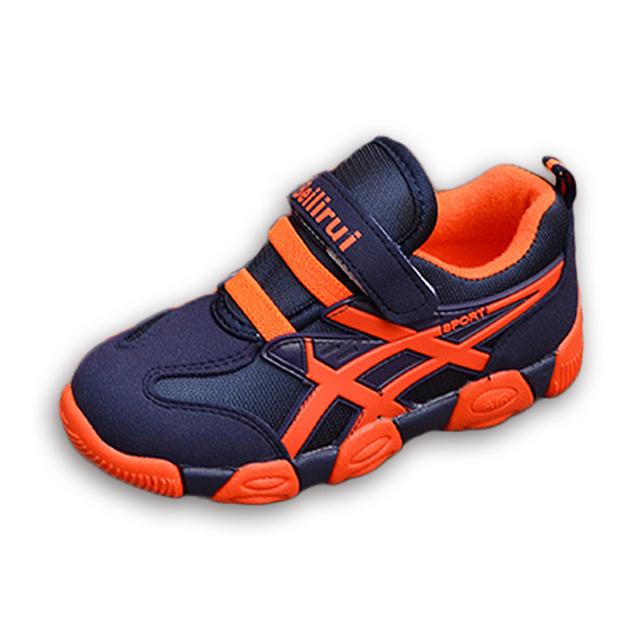 26-36 marca niños casual shoes 2016 muchachas de la manera muchachos niño plana sport shoes zapatillas de deporte ocasionales respirables