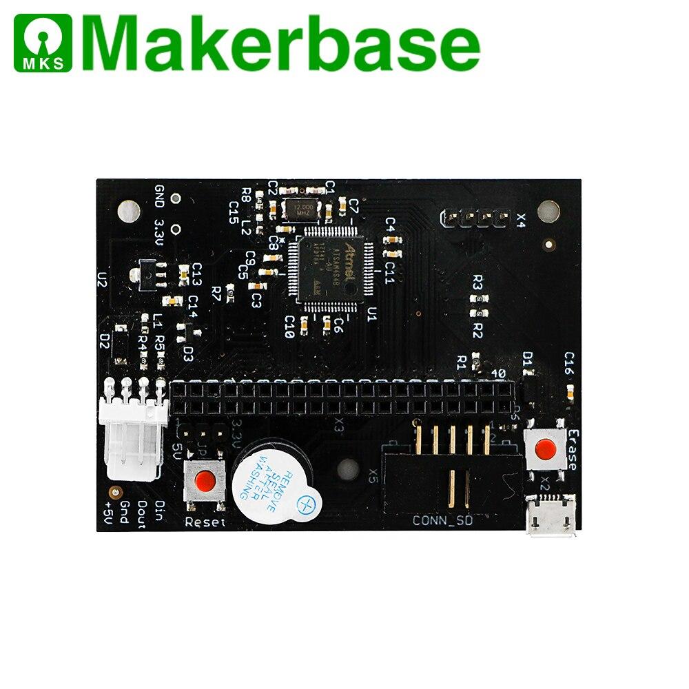 Makerbase 32 bits cloné duo 2 wifi V1.04 carte avec 4.3 ou 7.0 écran tactile Pandue pour pièces d'imprimante 3d CNC ender 3 pro - 4