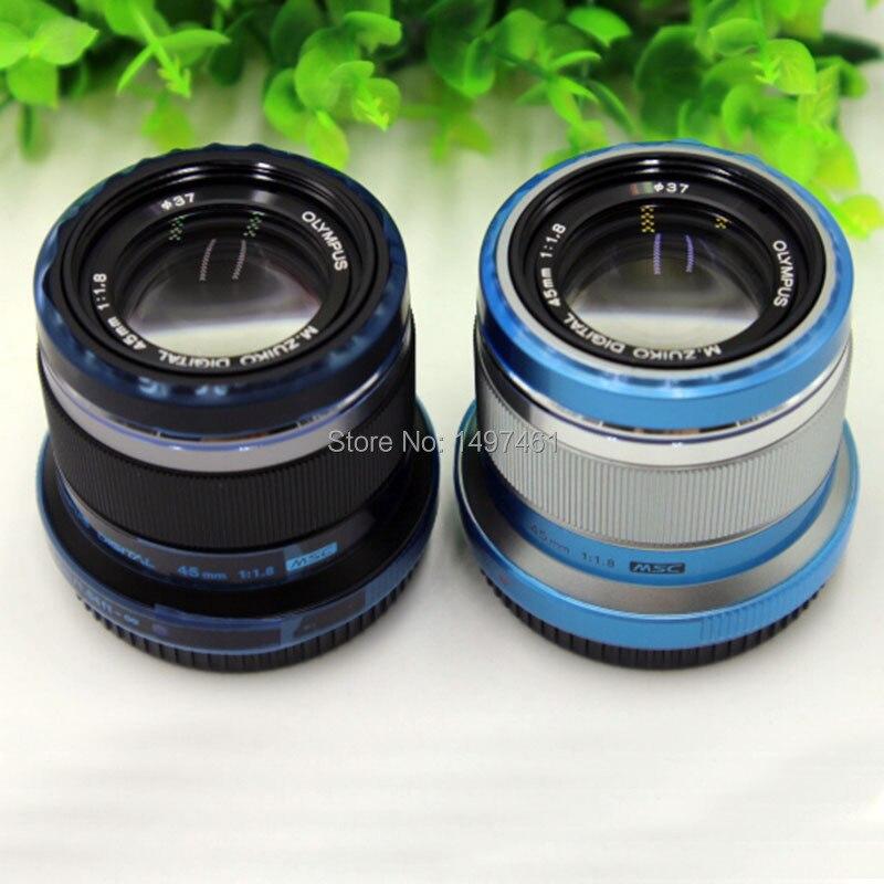 Silver/Black M.ZUIKO DIGITAL 45mm F1.8 Lens For Olympus E-PL9 E-PL8 E-PL7 OM-D E-M1 E-M5; E-M5 Mark II; E-M10 Mark II III Camera