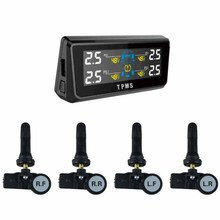 Wi-fi Tire Stress Monitoring System Automobile TPMS with Four Inner Automobile sensor