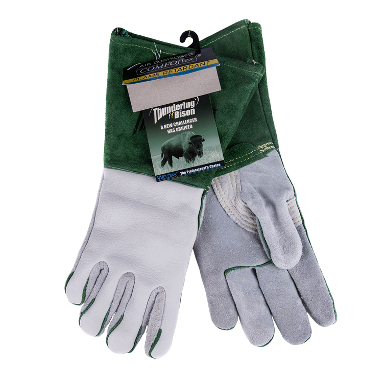Work Glove Argon arc welding glove protective buffalo wear-resistant TIG MIG Welder Safety Glove leather safety glove deluxe tig mig leather welding glove comfoflex leather driver work glove