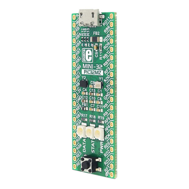 1 pcs x MIKROE 2802 PIC32MZ MINI 32 PIC PIC32 MCU 32 Bit Embedded Evaluation Board