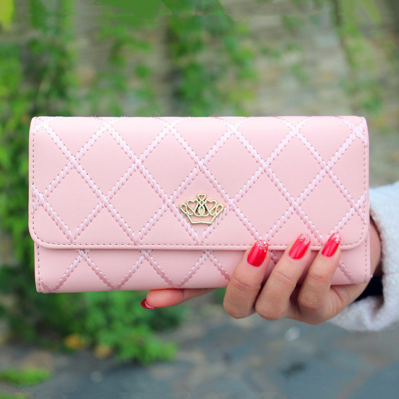 Women Wallet Lady Long Purse Bowknot Clutch Wallet  High Quality Handbag Bag Credit Card ID Bags Wholesale Drop Shipping #T