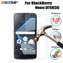 For BlackBerry Neon DTEK50 Explosion Proof Screen Protector 9H Premium Real Tempered Glass No Fingerprint Protective Cover Film