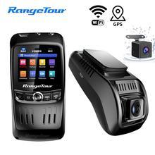 лучшая цена Mini Car DVR Dash Cam WIFI FHD 1296P Car Camera Dual Lens ADAS Video Recorder GPS Track Auto Camcorder Night Vision