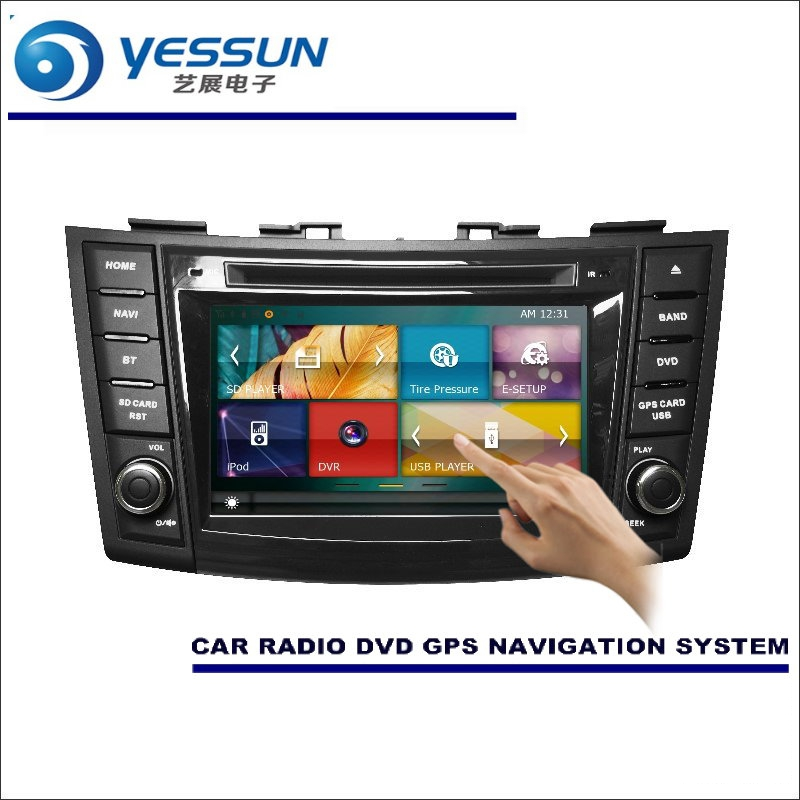 YESSUN For Suzuki Swift 2010~2016 Car Radio CD DVD Multimedia Player Amplifier HD TV Screen GPS Navigation Audio Video System