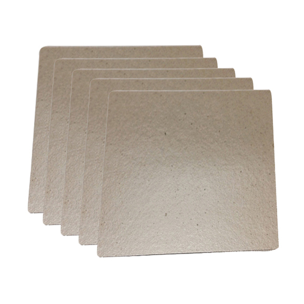5pcs Mica Plate Sheet Microwave Oven Replace Part 120x 130mm Universal Mica Plates For Midea For Electric Hair-dryer Toaster Ect