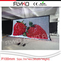 truck mounted led display screens  led video curtain