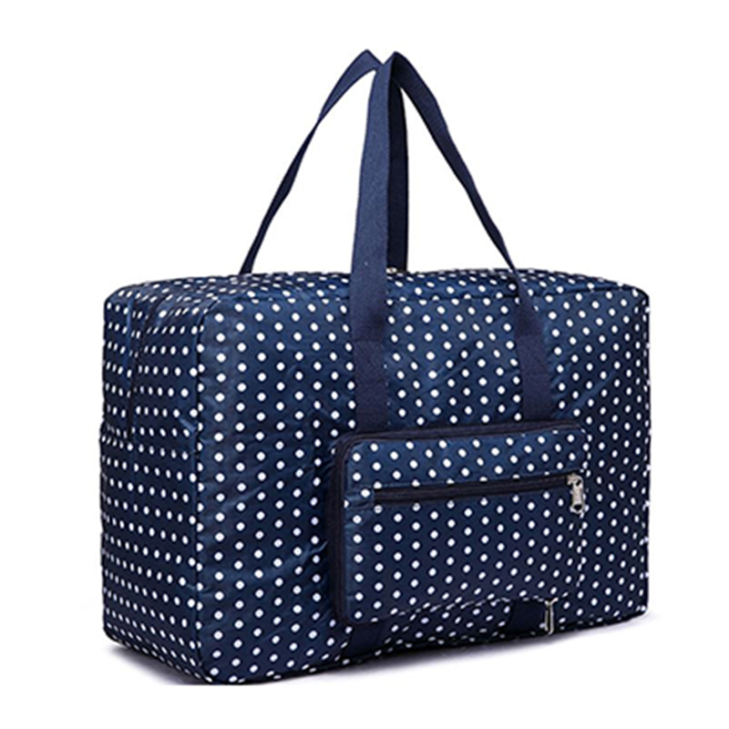 Oxford Waterproof Women Foldable Travel Bag Portable Duffle
