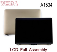 WEIDA 95% New LCD 12″ For Macbook Retina A1534 Display Touch Screen Full Complete Assembly Replacement A1534 Gold/Silver/Grey
