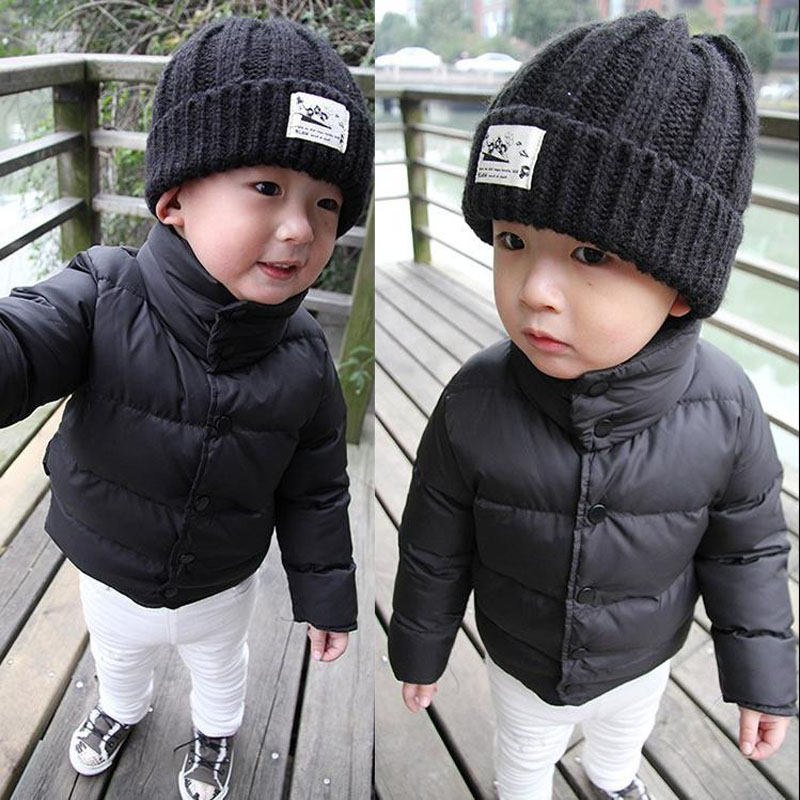 JENYA children's clothing Baby wadded jacket child thermal thickening winter outerwear male female winter cotton-padded jacket
