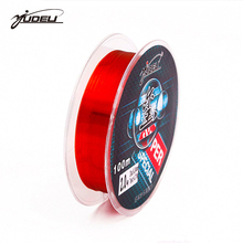 YUDELI Brand100M Nylon Fishing Line Red Color 2 10 20 30LB Monofilament Japan Imported Materials Line