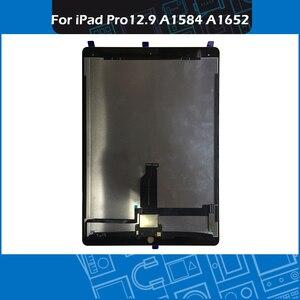 "Image 2 - Pantalla Completa A1584 A1652, montaje de pantalla táctil en blanco y negro, para iPad Pro, pantalla de 12,9 ""con placa"