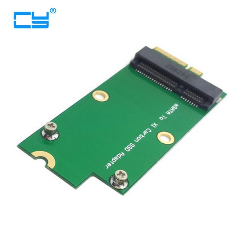 Mini PCI-E MSATA SSD To Sandisk SD5SG2 Lenovo X1 Carbon Ultrabook SSD Add On Cards PCBA