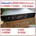 Lvp605 VD parede Hdmi / Composite / Usb / Dvi / Vga entrada Dvi / Vga / saída VD parede de vídeo Led LVP605 processador