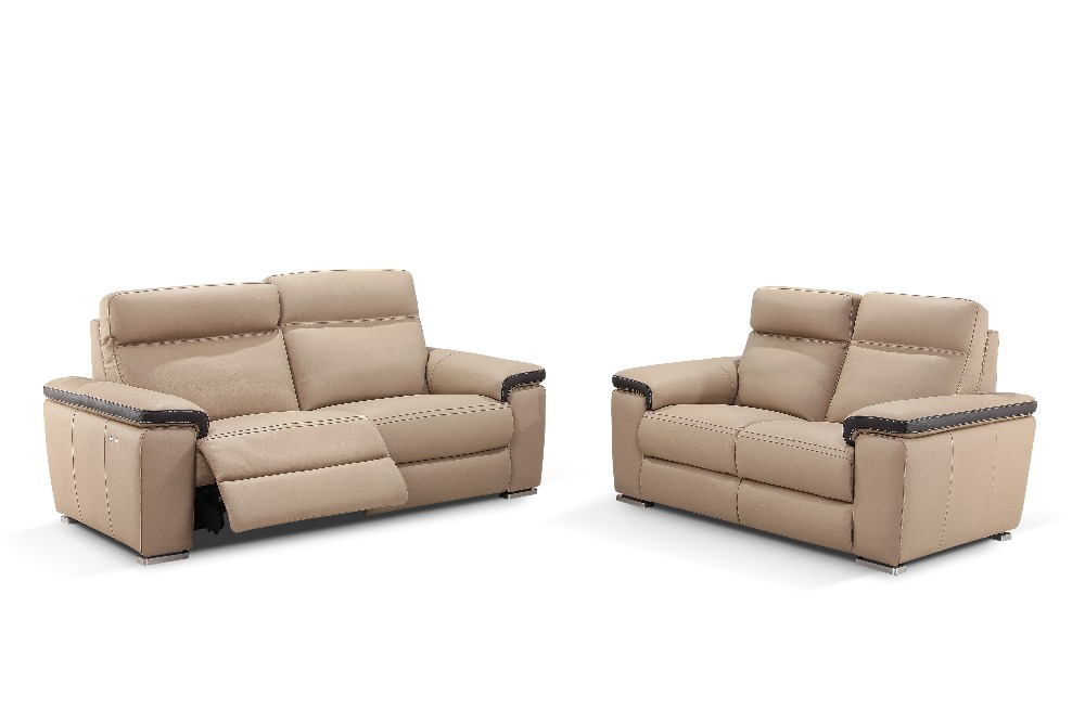 Online buy wholesale leather recliner sofa set from china for Cheap leather sofas