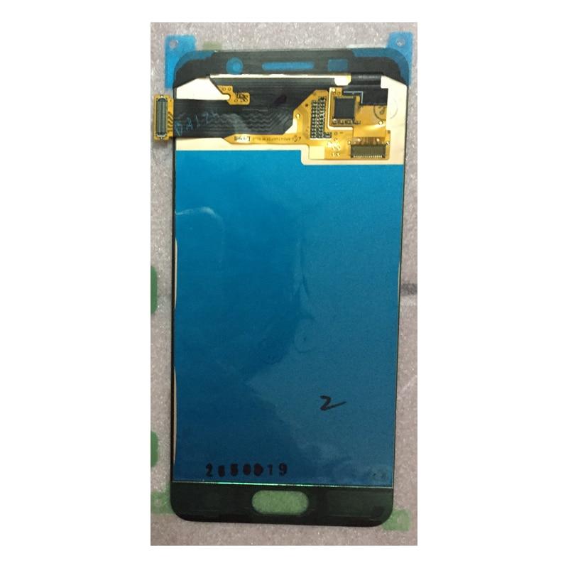 100% Super AMOLED LCD Pour SAMSUNG Galaxy A5 2016 A510 A510F A510M SM-A510F LCD Affichage à L'écran Tactile Digitizer Assemblée