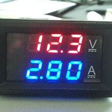 цена на Mini Digital Voltmeter Ammeter DC 100V 10A Panel Amp Volt Voltage Current Meter Tester 0.56