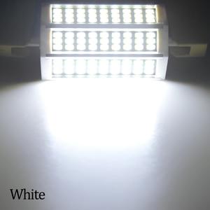 Image 3 - 78 118 135 189 مللي متر R7S عدسة ليد ثنائية الأضواء لمبة 220 فولت 10 واط 20 واط 25 واط 30 واط أمبولة LED R7S الكاشف سمد 5730 عالية التجويف لا وميض