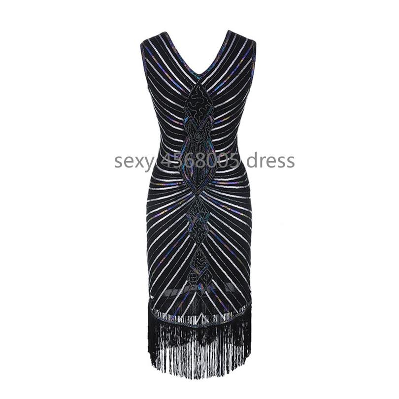 Для женщин Гэтсби, платье с геометрическим рисунком, сетчатые платья с блестками в стиле пэчворк Винтаж Хлопушки 1920 s бахромой платье вечеринка Bodycon Club Платья Плюс Размеры