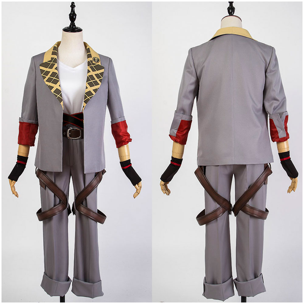 Touken Ranbu Sohayanotsurugi Uniform Outfit Cosplay Costume Halloween Party Show Daily All Set For Men Full Sets