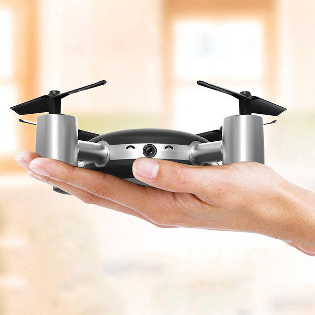 X916H Mini 2.4Ghz RC Quadcopter Helicopter APP Wifi Control Drone RTF Black