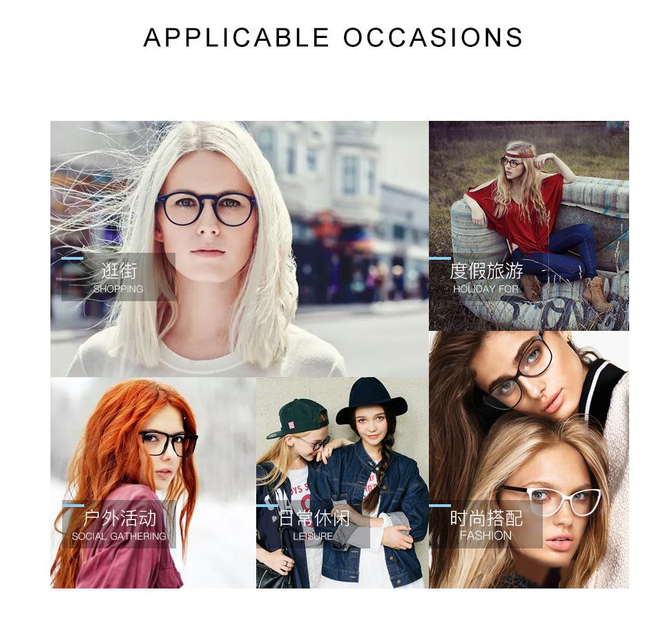 c29137204e8 2019 Luxury Brand Designer CE Elegant Round Frame Eye Glasses Frame ...