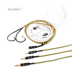 Acrolink 2.5/3.5/4.4mm/ Pcocc silver Plated Earphone Upgrade Wire Headphone Cable WESTON TFZ 1964 W4R UM3X ES3 ES5 cm0.78 Cable