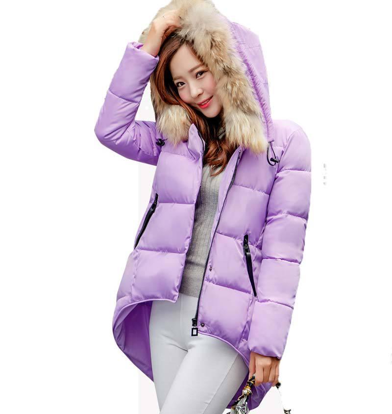 2015 new Women fashion plus size winter jacket coa...