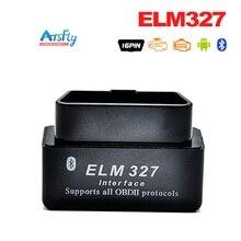 ELM327 OBD2 / OBDII Black ELM 327 V2.1 Car Code Scanner