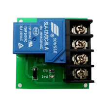 цена на 1 way 30A relay module, high power relay control board, single switch relay 5V/12V/24V