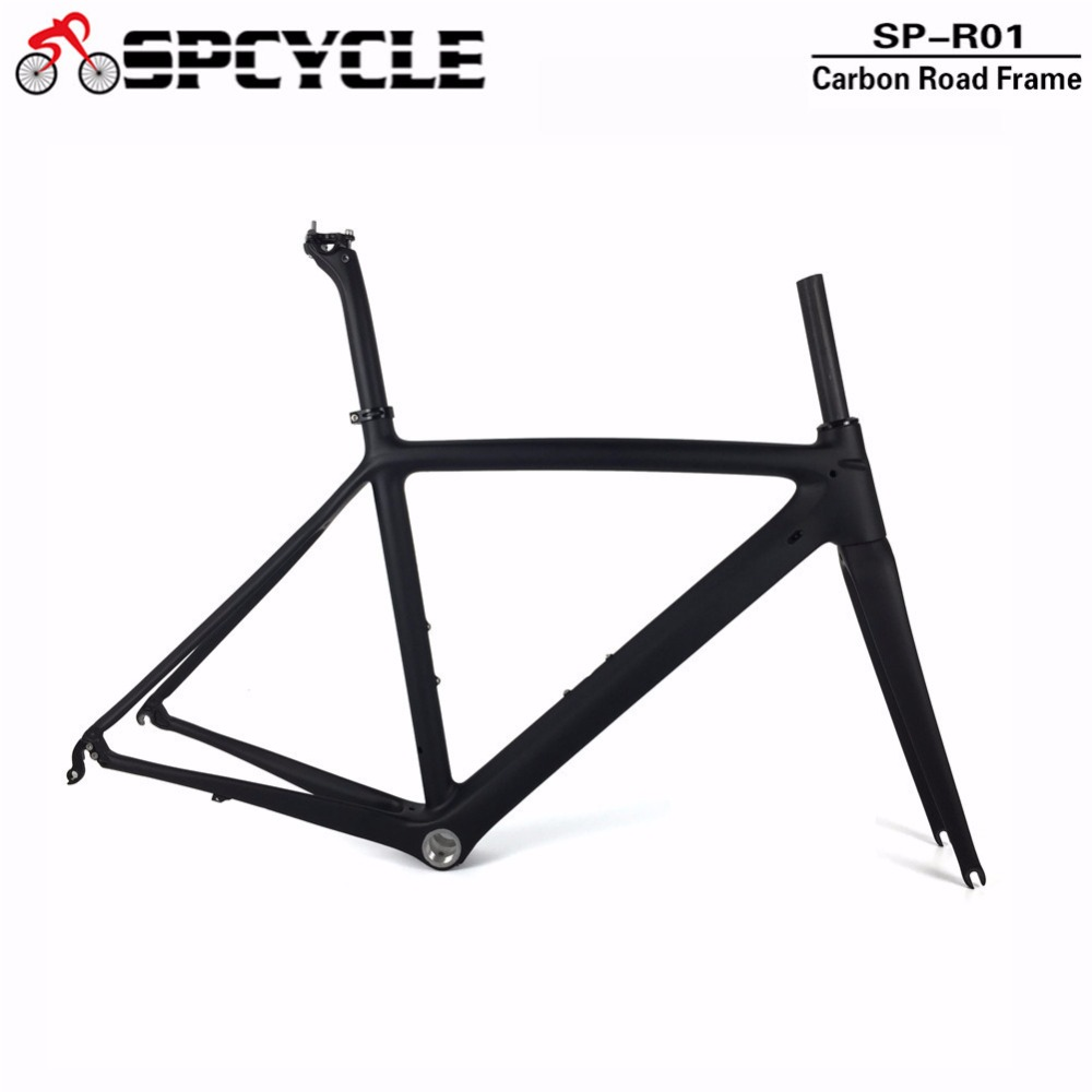 все цены на 700C Racing Road Bicycle Carbon Frames,Cycling Full Carbon Bike Frames, Road Carbon Bike Frame+Fork+Seatpost+Headsets+Clamp